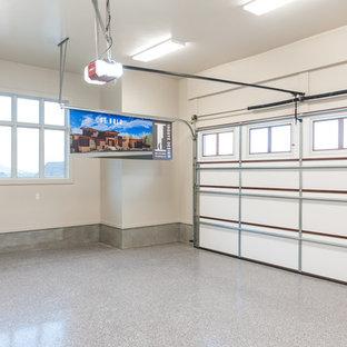 Transitional garage in Salt Lake City.