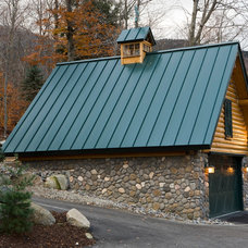 Traditional Garage And Shed by Rocky Mountain Direct