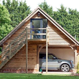Design ideas for a classic detached single garage workshop in West Midlands.