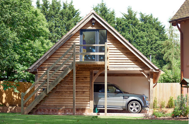 Traditional Garage by Oakwrights