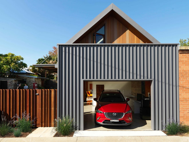 Contemporary Garage by anderson architecture