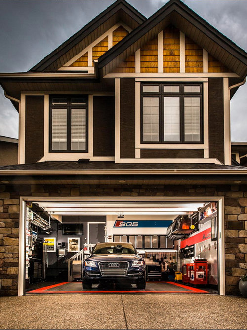 The Ultimate Home 2 Car Garage FLOORED With RaceDeck Flooring