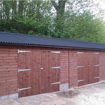 Timber Garage - Badshot Lea, Surrey