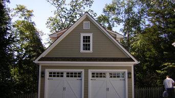 Traditional 2-Car Garage with Loft
