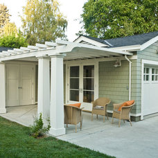Traditional Garage And Shed by Ana Williamson Architect