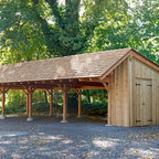 Grave Run Traditional Garage And Shed Baltimore By