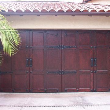 Transitional Style Garage Doors