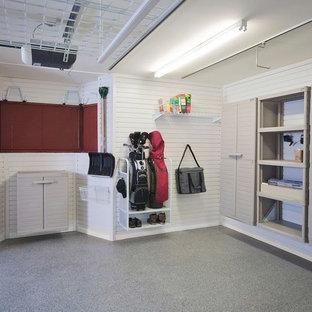 Contemporary garage in Buckinghamshire.