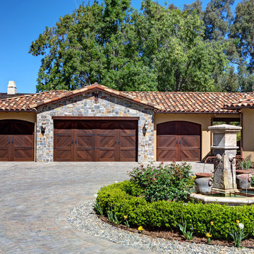 Tuscan remodel and addition