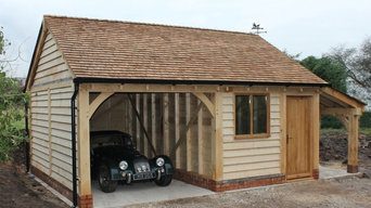 Two Bay Garages
