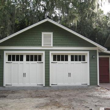 Two Car Bungalow Garage