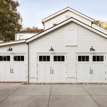 Two-Car Garage with Storage