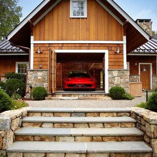 Idéer för att renovera en vintage tillbyggd enbils garage och förråd