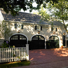 Traditional Garage And Shed by Patrick Ahearn Architect