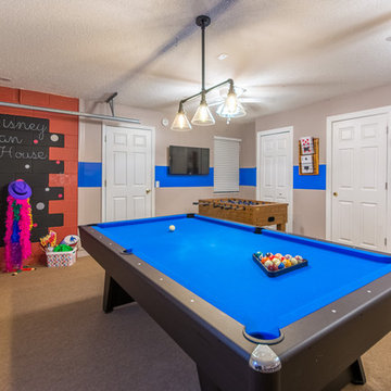 Vacation Home Game Room Garage