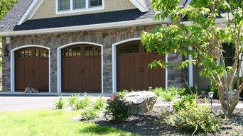 Variety of Artisan's Custom Garage Doors