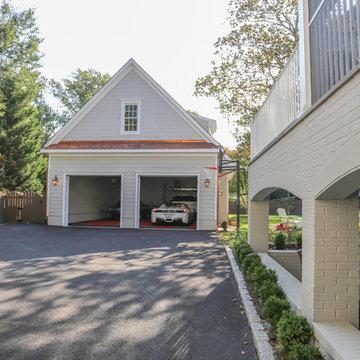 Vaulted Garage