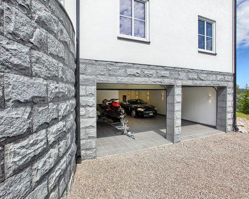 Fotos de garajes dise os de garajes modernos en suecia - Garajes de diseno ...