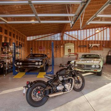 Vintage Modern Garage