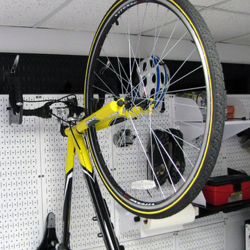 Wall Control Garage Pegboard is Strong Enough for Bikes