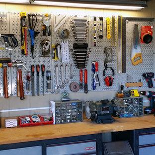 Garage - industrial garage idea in Atlanta