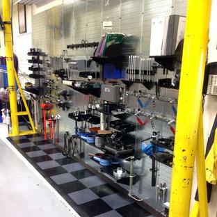 Idéer för en industriell garage och förråd