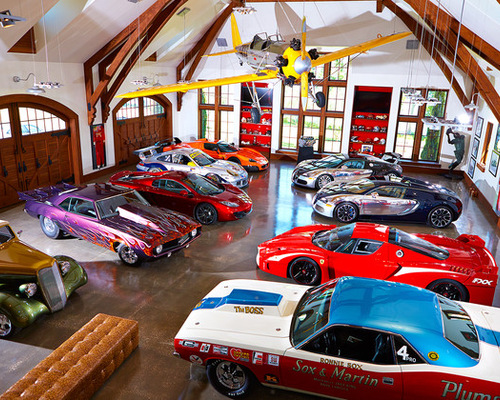 Best Race Car Garage and Shed Design Ideas & Remodel Pictures | Houzz
