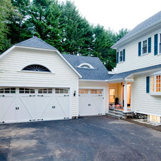 Traditional Garage And Shed by D.R.M. Design Build, Inc.