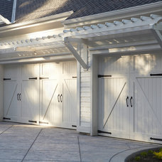 Traditional Garage And Shed by Fautt Homes