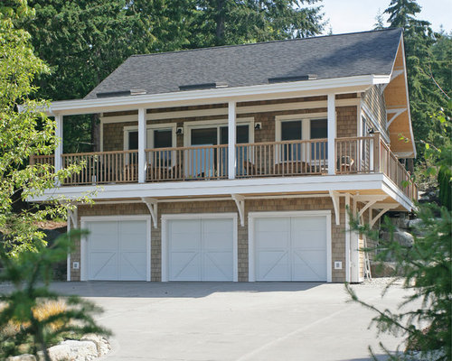 Porch Over Garage Home Design Ideas Pictures Remodel And
