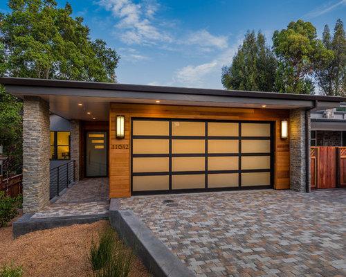 Midcentury Garage And Granny Flat Design Ideas