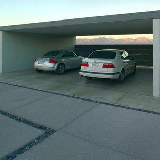 フェニックスのモダンスタイルのおしゃれなカーポート (2台用) の写真