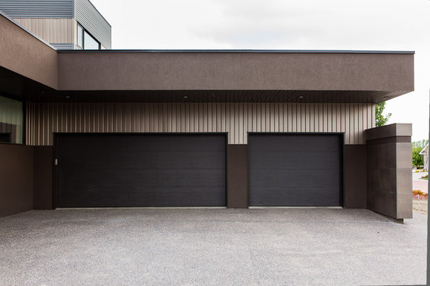 Modern Garage And Shed by Habitat Studio