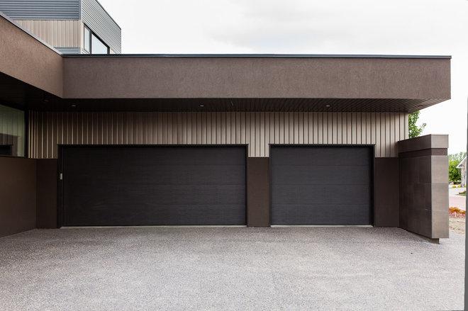 Modern Garage And Shed by Habitat Studio
