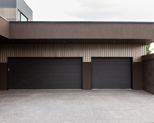 Contemporary garage doors houzz