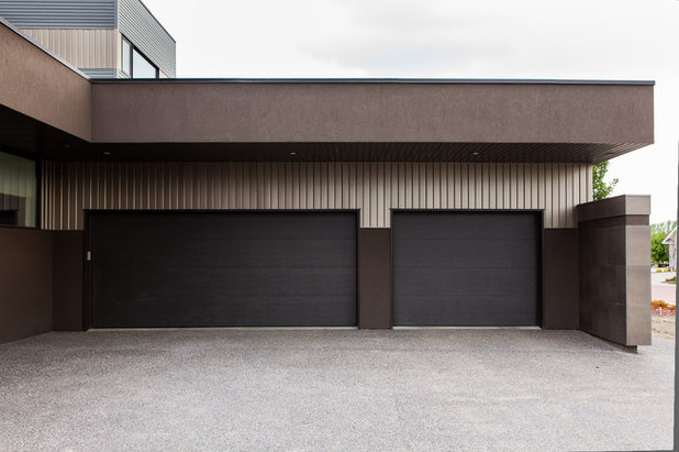 Moderne Garage by Habitat Studio