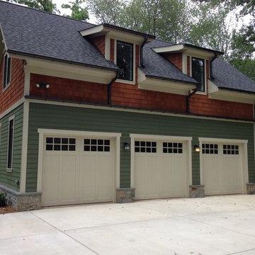 Wood and Composite Carriage Garage Doors
