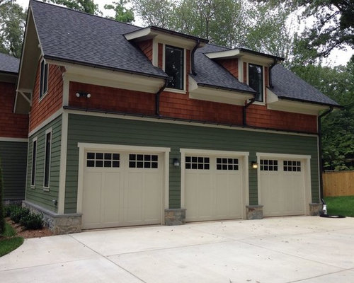 Wood and composite carriage garage doors for Wood carriage garage doors