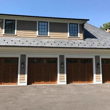 Wood and Faux Wood Garage Door Ideas From Pro-Lift Garage Doors of St. Louis