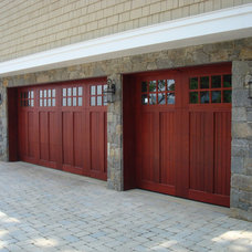 Garage Doors And Openers by Clingerman Doors - Custom Wood Garage Doors