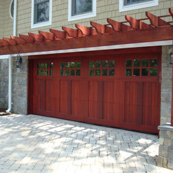 Wood Garage Doors and Carriage Doors - Carriage garage doors by Clingerman Doors located in Pennsylvania.  Custom designs available!
