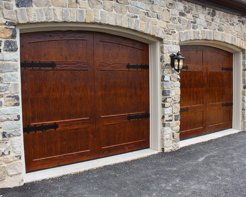 Wooden garage doors for Rustic wood garage doors