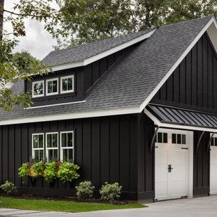 Idéer för att renovera en mellanstor lantlig fristående tvåbils garage och förråd