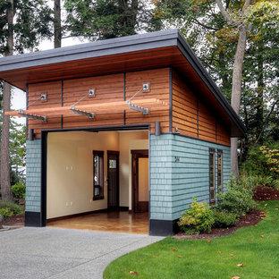 Moderne Garage in Seattle