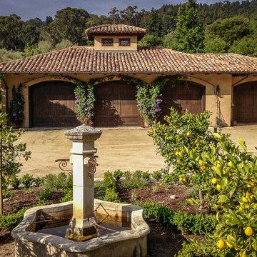 Woodside Mediterranean Estate - Garage