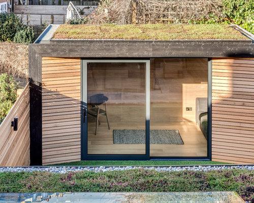 scandinavian garage and shed design ideas renovations. Black Bedroom Furniture Sets. Home Design Ideas