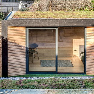 Scandinavian shed and granny flat in London.