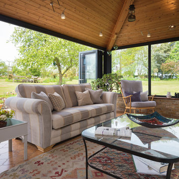 A Beautiful Garden Room For All Year Use