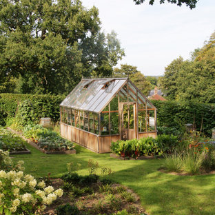 Farmhouse detached garden shed and building in Sussex.