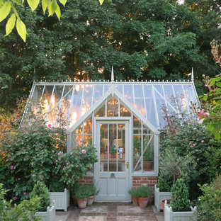 Inspiration for a victorian detached greenhouse in Hampshire.